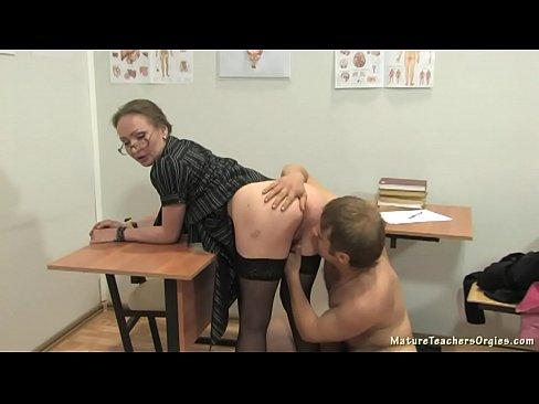 Russischen Reife Lehrer 12 - Elena (anathomy Lektion)