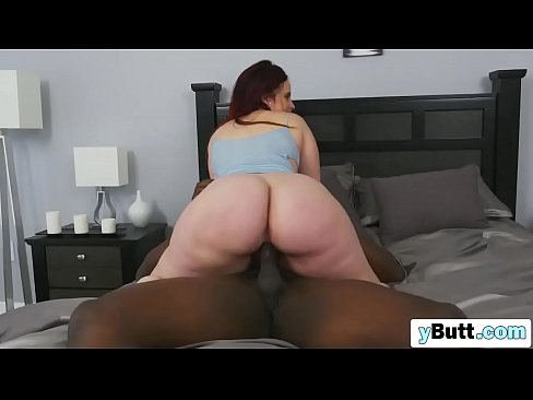 chubby red head takes big dick
