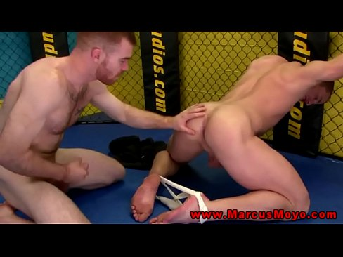 Straight bottom gets his ass drilled