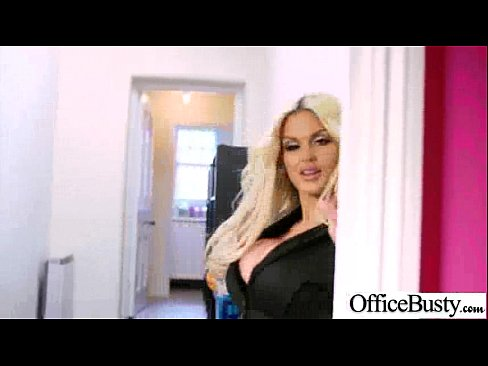 Busty Office Girl (candy sexton) Bang Hard Style At Work clip-09