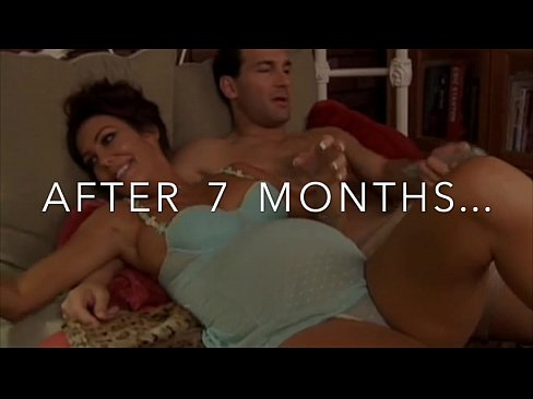COUPLE in REAL INSEMINATION - BEFORE AFTER IMPREGNATION