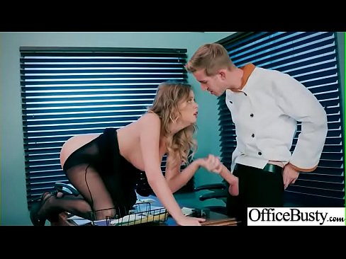 Busty Office Girl (Alexis Adams) Get Hardcore Banged vid-01