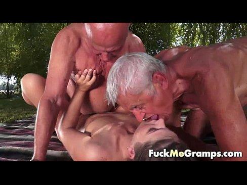 threesome massage porn