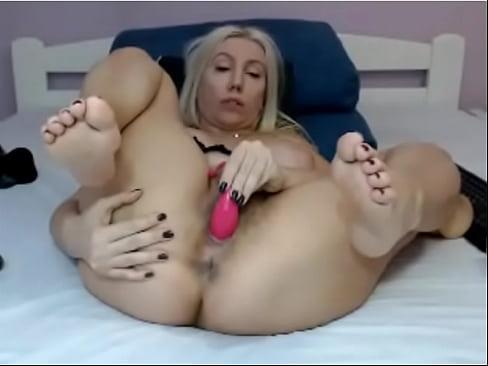 Solo Orgasm Contraction Feet