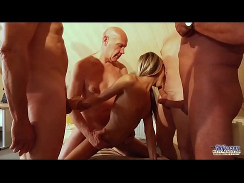Big tit blonde mature handjob