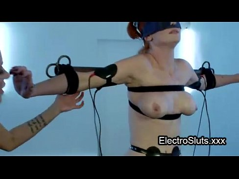Tube four gagged blonde electro shocked in chair mom sex