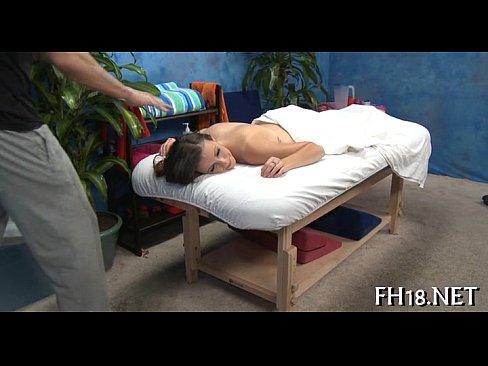 Wife massage porn