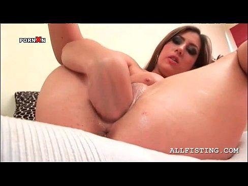 Close up female masturbation