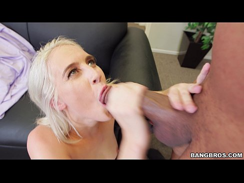 Blonde With Monster Cock