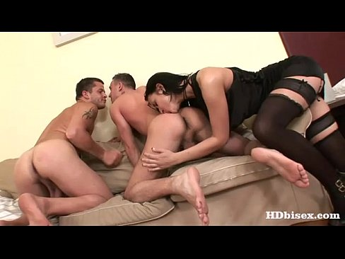 Mmf threesome ass lick