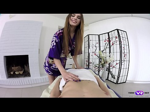 Tmw VR net - Elle Rose- Nedda- JAPANESE STYLE MASSAGE