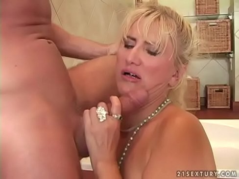 Golden blonde fucked infront of husband