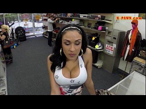 hottie Busty fucked latina