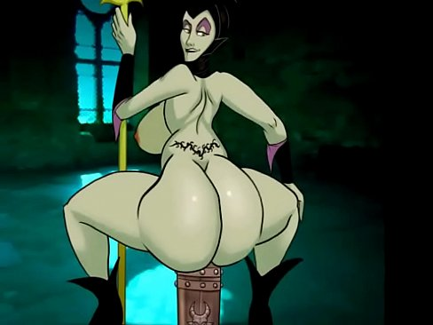 Maleficent shakes her ass