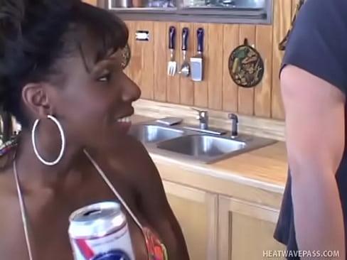 Ebony Milf Anal Gangbang