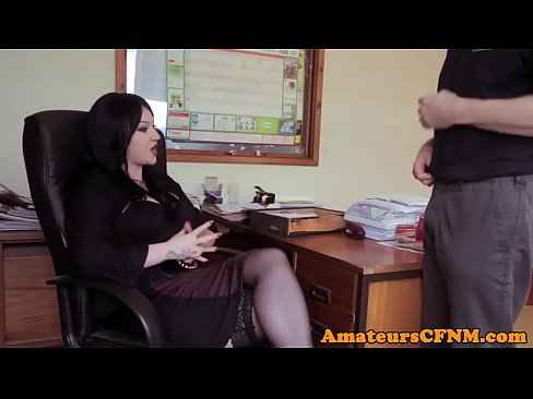 at the office Femdom