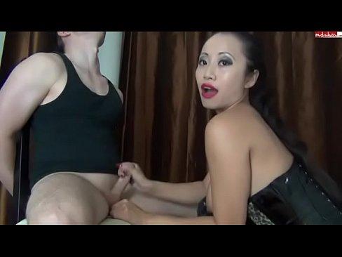 Asian tease and denial femdom gifs