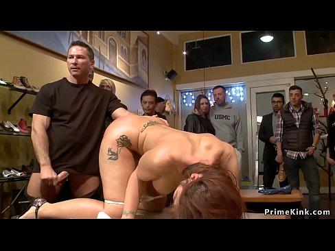 young lesbian eats pussy big tit mature