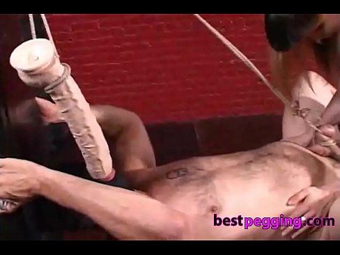 Cock Ball Bondage And Hard Strapon Torture Xnxx Com