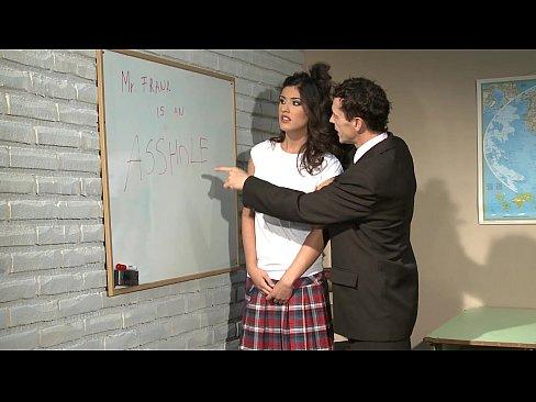 Schoolgirl gets punishment