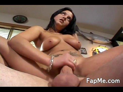 Passionate girl teasing a big cock - XNXX COM