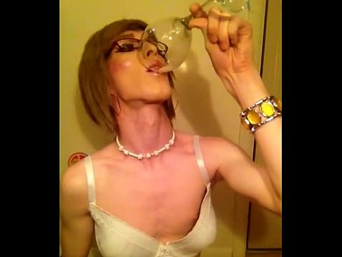 Cum eating transvestite sissies