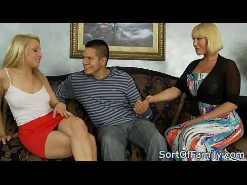 Step Mom Stepsis Threesome