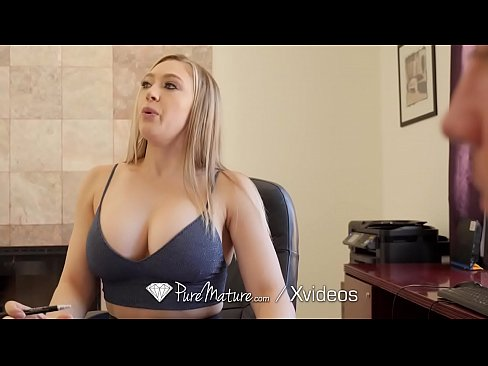 Busty Milf Rides Young Cock