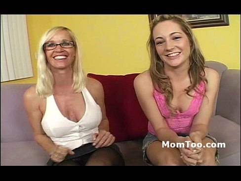 Busty Mature Pornstar Mommy Gets Her Daughter Started In The Porn