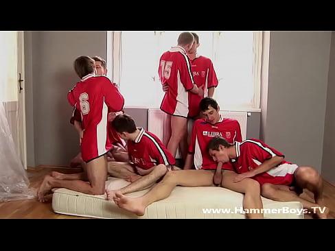 Orgia video gay