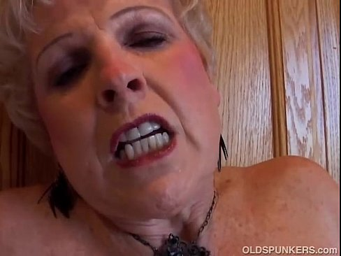 Grandmother wet pussy
