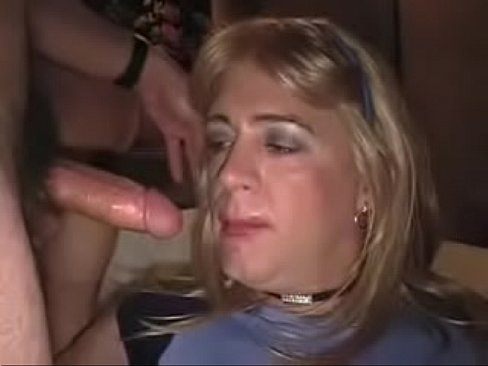 Mature transvestite video