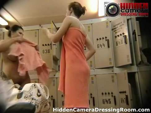 Hidden camera in locker room