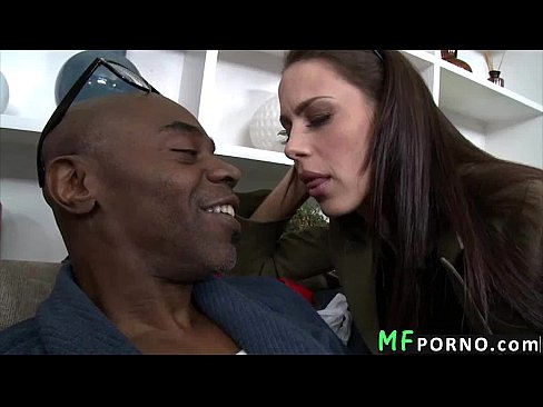 Landlord gets fucked by black dick Mckenzie Lee 1