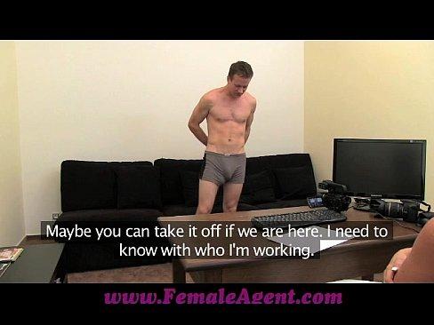 FemaleAgent Spectacular cock control