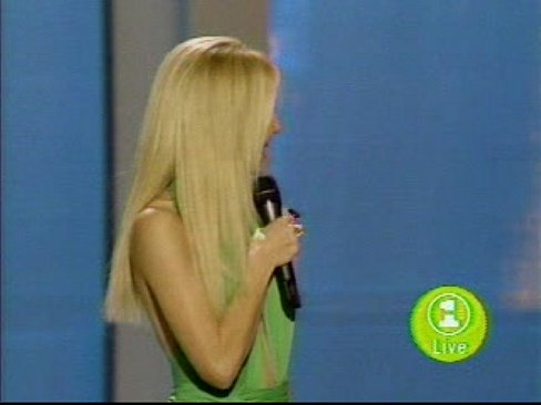 Heather Locklear - Green Dress