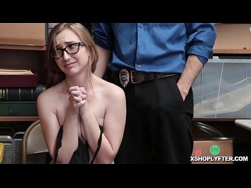 Shoplifter blowjob