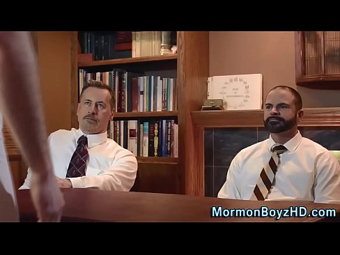 No underwear mormons cum