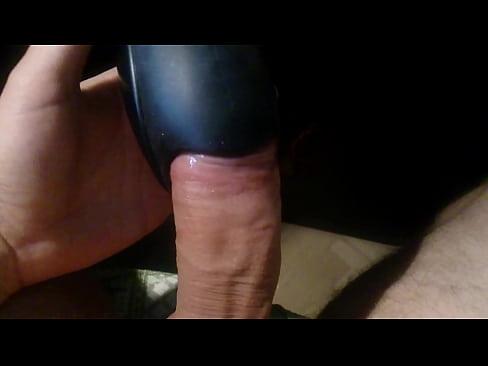 Ejaculating vibrating dildo