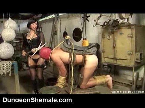 She-males in strict bondage
