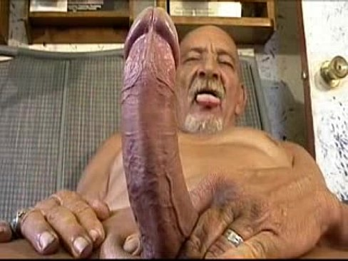 Black old man sex