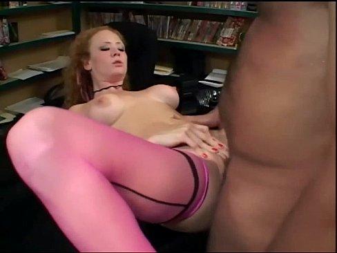 Pink stocking sex
