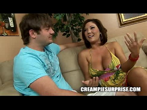 Creampie Surprise - Claire Dames
