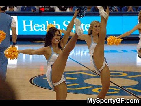 Camel pussy college toe upskirt cheerleader