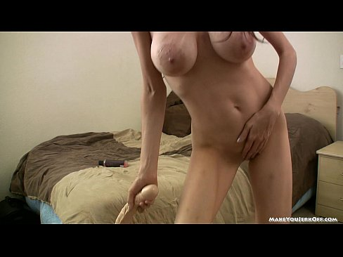 Bbw milf plays with big tits
