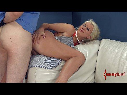 Blonde slut gets fucked in office