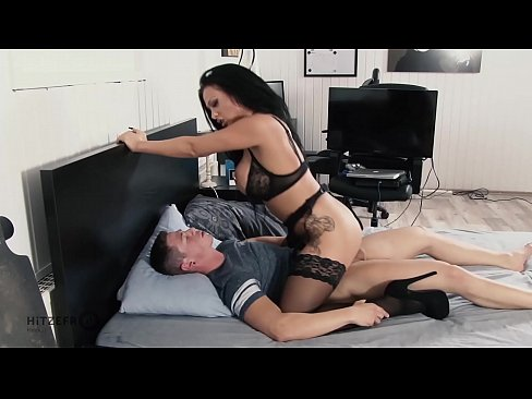 Gorgeous milf fucks by stepson