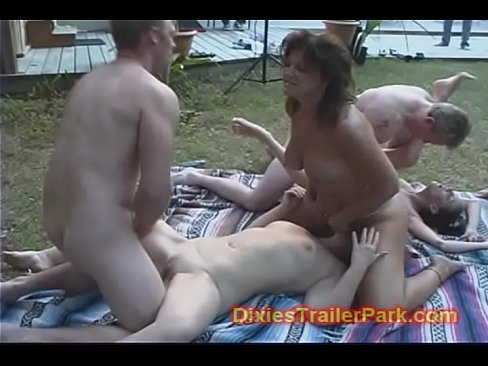Neighbour has sex orgy