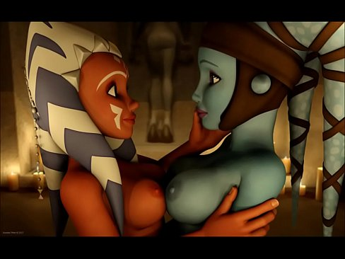 Star Wars Ahsoka Tano & Aayla Secura anime