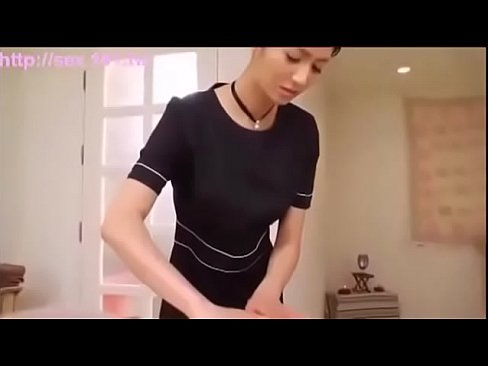 Asian beauty massage and handjob